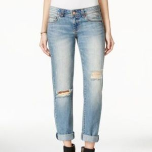 American Rag Ripped Cuffed Jeans